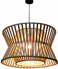 KFDQ Natural Bamboo Pendant Lighting Ceiling