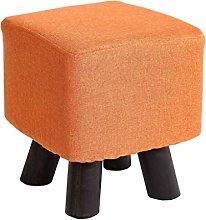 KFDQ Novelty Household Stools,Footstool Solid Wood