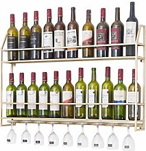 KFDQ Novelty Wine Glass Rack, Wine Rack,Wall