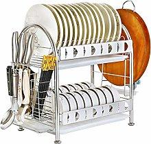 KFDQ Storage Rack 304 Drain Dish Rack Chopsticks