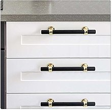 KFZ Black+Gold Handle Pull,Cabinet Drawer Wardrobe