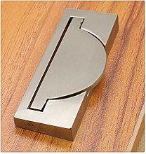 KFZ Flush Recessed Sliding Door Drawer Pull
