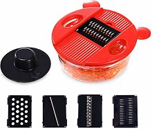 KGDC Veggie Shredder Grater Multifunctional