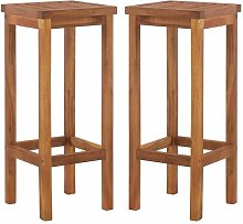 Khalid 74cm Bar Stool Union Rustic