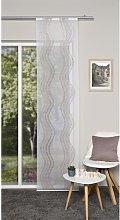 Khalil Sheer Single Panel Curtain Mercury Row
