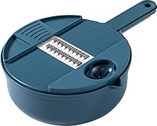 KHDJ Drain Basket Vegetable Cutter 12 IN 1,