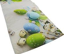 khevga Easter Decoration Table Runner Easter Table