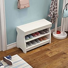 KHFJ Shoe Shelves Lift Up Lid For Hallway Living