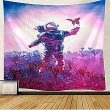 KHKJ Astronaut TapestryMandala Wall Hanging