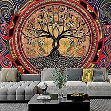 KHKJ Cartoon Tapestry Art Mandala Wall Hanging