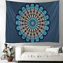 KHKJ Colorful Mandala tapestry Indian Mandala