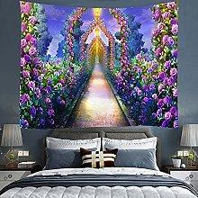 KHKJ Colorful painting Mandala Wall Hanging Boho