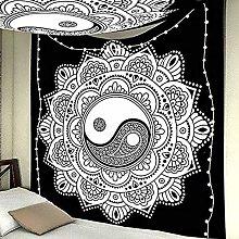 KHKJ Mandala tapestry wall hanging beach throw