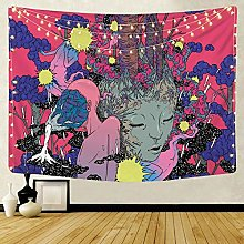 KHKJ Nordic ins psychedelic hanging fabric
