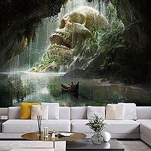 KHKJ Skull Waterfall TapestryArt Mandala Wall