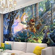 KHKJ Unicorn Tapestry Animal Mandala Wall Hanging