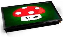 KICO 1 Up Mushroom Life 1UP Game Gaming Cushioned