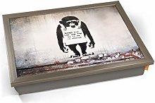 KICO Banksy Chimp in Charge Cushioned Bean Bag