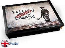 KICO Banksy Dreams Cancelled Cushioned Bean Bag