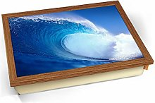 KICO Big Wave Sea Cushioned Bean Bag Breakfast Bed