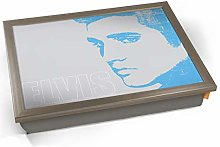 KICO Blue Elvis Presley Face Legend Icon Cushioned
