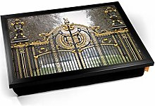 KICO Buckingham Palace London Gate Cushioned Bean
