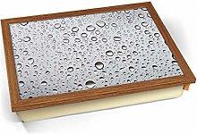 KICO Clear Water Rain Droplets Cushioned Bean Bag