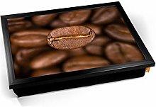 KICO Coffee Beans Macro Bean Cushioned Bean Bag