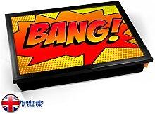 KICO Comic BANG Cushioned Bean Bag Breakfast Bed