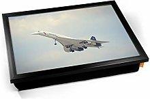 KICO Concorde BAC Front Aviation Plane Cushioned