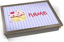KICO Cupcake Personalised Childrens Name Cushioned