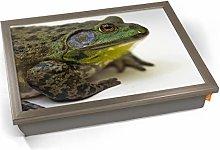 KICO Frog Toad Animal Cushioned Bean Bag Breakfast