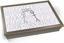 KICO Funny Stickmen Put On Weight Illustration