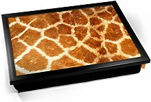 KICO Giraffe Animal Skin Cushioned Bean Bag
