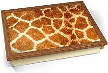 KICO Giraffe Animal Skin Cushioned Bean Bag