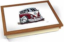 KICO Koolart Purple VW Camper Van Car Illustration