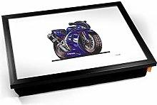 KICO Koolart Yamaha Motorbike Bike Illustration