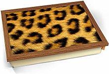 KICO Leopard Animal Skin Cushioned Bean Bag