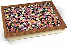 KICO Licorice Allsorts Sweets Candy Cushioned Bean