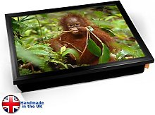 KICO Monkey in Trees Cushioned Bean Bag Breakfast