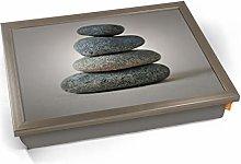 KICO Pebble Stack Rocks Zen Cushioned Bean Bag