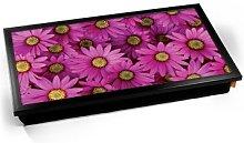 KICO Pink Daisy Daisies Flowers Cushioned Bean Bag