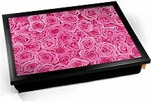 KICO Pink Roses Flower Cushioned Bean Bag