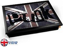 KICO Punk Union Jack Rebel Rock Cushioned Bean Bag