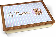 KICO Puppy Personalised Childrens Name Cushioned