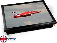 KICO RAF Red Arrows Aviation Plane Cushioned Bean