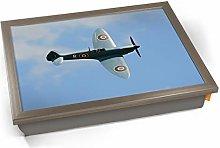 KICO Spitfire Supermarine Aviation Plane Cushioned