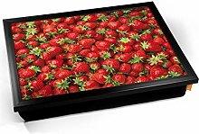 KICO Strawberries Fruit Cushioned Bean Bag