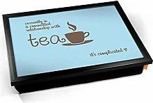 KICO Tea Relationship Typography Art Print