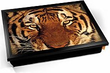 KICO Tiger Face Cushioned Bean Bag Breakfast Bed